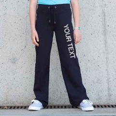 Personalised Childrens/Girls Dance Pants (SM61)